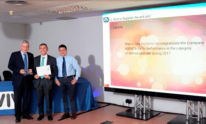 Premio Mejor Proveedor Servicios
